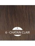 Extensions HAIR CLIP MI-LONGUEUR (3 Bandes) en Cheveux 100% Naturels